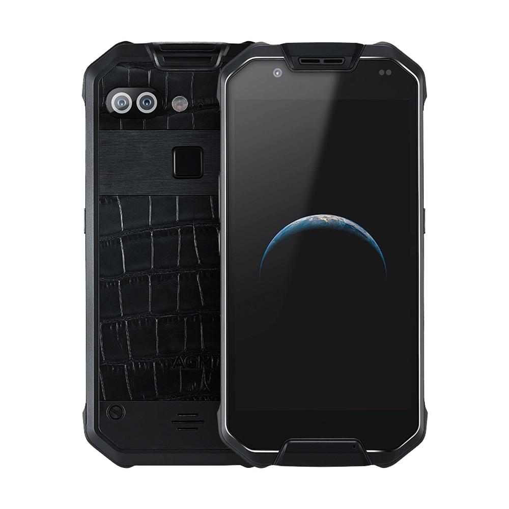 AGM X2 robuste IP68 MIL-STD-810G étanche téléphone 6000mAh Charge rapide 6G + 64G/128GB téléphone portable 5.5