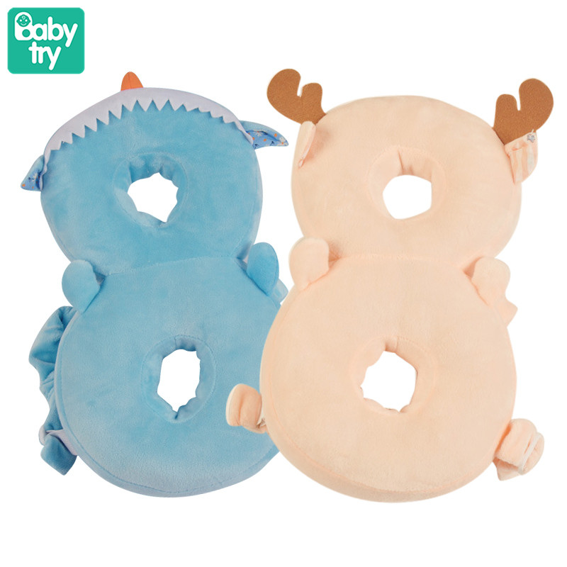 Baby Drop-proof Pillow Toddler Protection Deer Demon Cushion Newborn Nursing Baby Activity Walking Helper Belt Harness