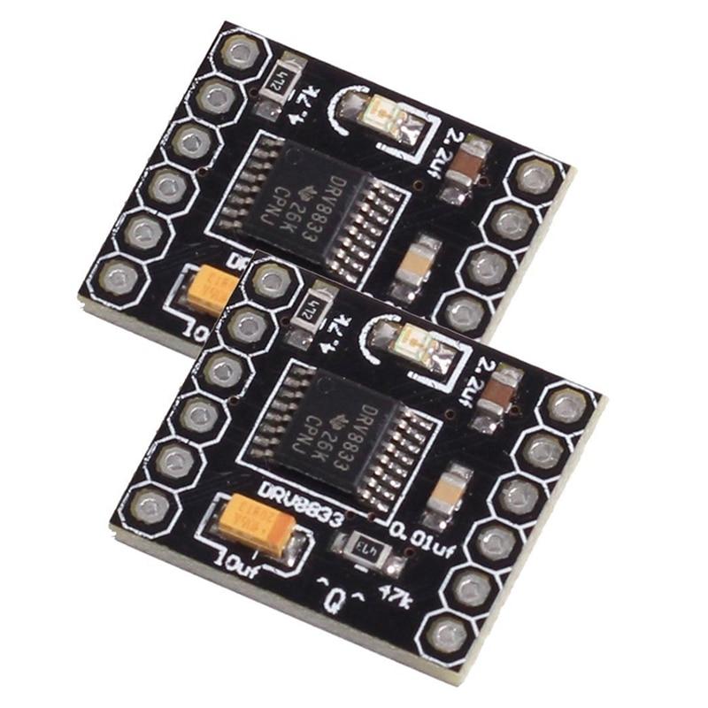 Высокое качество DRV8833 1.5A двойной H Мост DC мотор-редуктор контроллер платы для DIY Smart Car Robot (упаковка из 2)