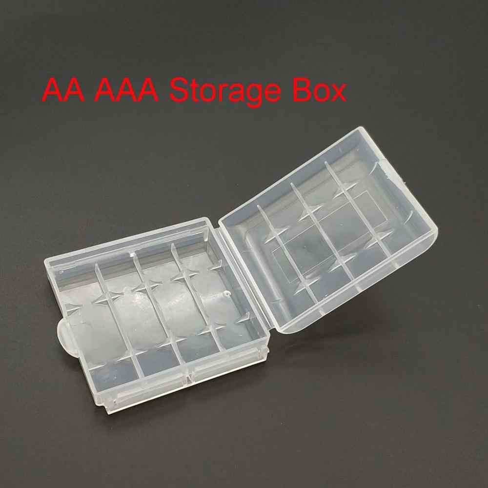 10440 14500 AA AAA Batterie Box Container Fall Veranstalter Box Kunststoff Fall Halter Storage Box