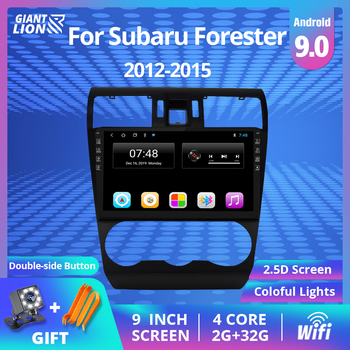 2DIN Android 9.0 Car Radio For Subaru Forester 2012-2015 Car Radio Multimedia Video Player Navigation GPS Autoradio Dvd Player ectwodvd wince 6 0 car multimedia player for kia sorento 2013 2014 2015 2016 car dvd auto video player gps navigation radio