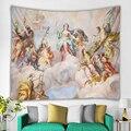 Ангельский Гобелен Мандала настенное украшение для дома настенное одеяло для гостиной спальни фон для телевизора богемные Крылья Ангела