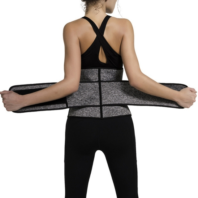 Waist Trainer Corset Sweat Belt Women Weight Loss Compression Trimmer Fitness Gym corset Women's Intimates 1