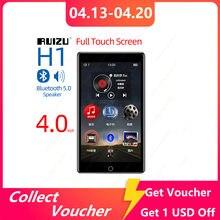 RUIZU H1 Full Touch Bildschirm MP3 Player Bluetooth 8GB Musik-Player Mit Gebaut-in Lautsprecher Unterstützung FM Radio aufnahme Video E-book