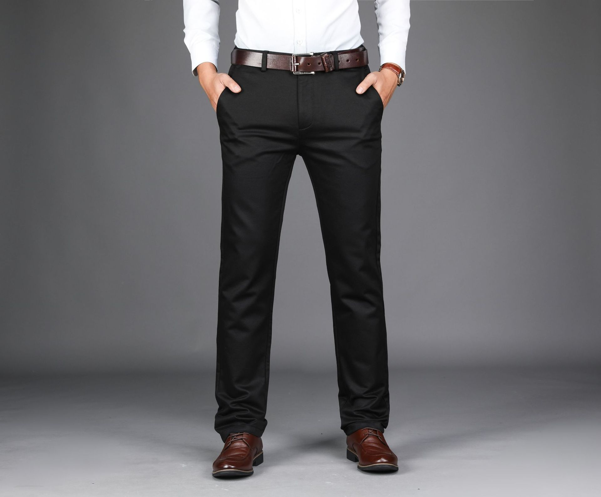 2018 New Style Men Autumn & Winter MEN'S Casual Pants Long Pants Men Urban Fashion Business Casual Long Pants