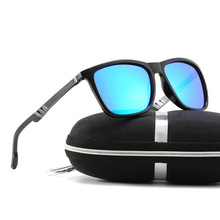 2020 New Polarized Sunglasses For Men Colorful Lens Aluminum Magnesium Spring Le