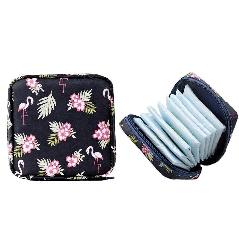 Portable Large Capacity Sanitary Napkin Storage Bag Travel Cosmetic Storage Makeup Bag Jewelry Storage Bag Lipstick Bag Purse