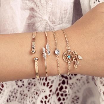 Bracelet attrape rêve en étoile 1