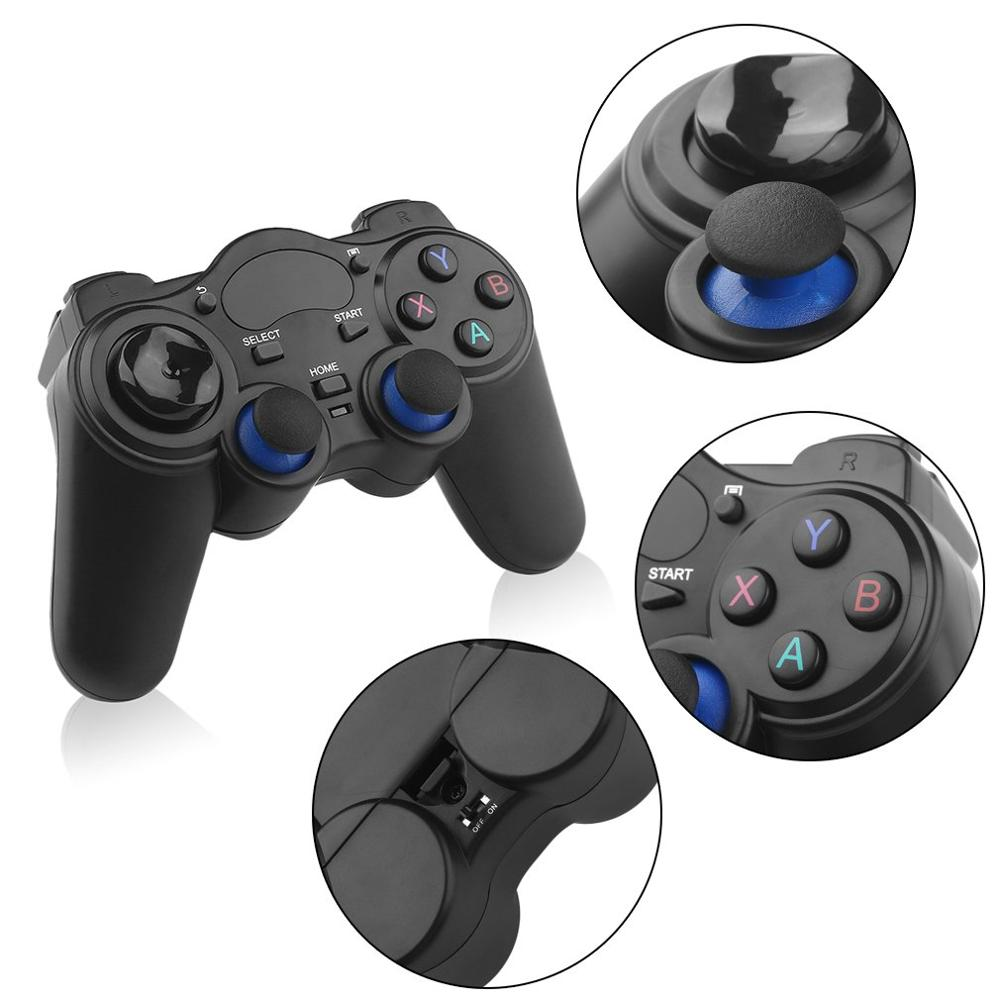 Smart Wireless Handle Gamepad Game Controller For Android Phone/PC Computer/ PS3/ TV Box Joystick 2.4G Joypad Game Remote Pad image