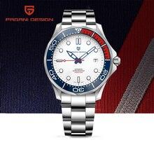 2020 Nieuwe Pagani Ontwerp 007 Mannen Horloges Luxe Mechanisch Horloge Automatisch Horloge Mannen Waterdichte Gebogen Saffier Spiegel Klok Man