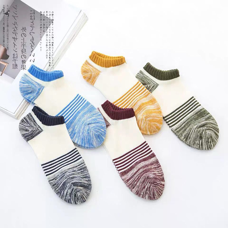 10 pairs of socks mens cotton four seasons boat low to help shallow mouth deodorant sports