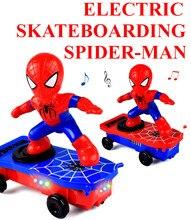 Spider Berjalan Kaki Stunt