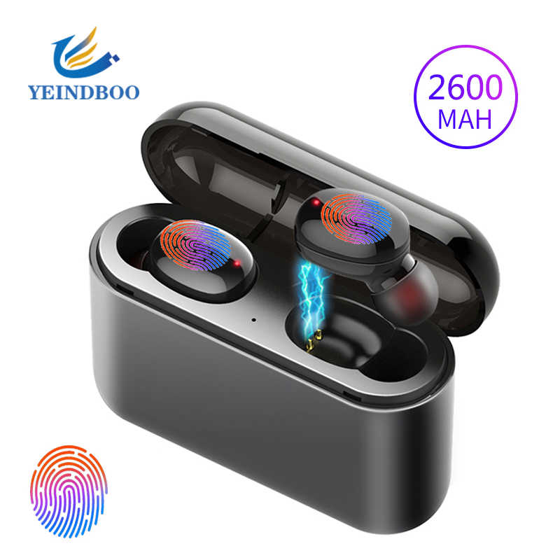 TWS наушники беспроводные наушники Bluetooth наушники стерео гарнитура наушники для телефона с зарядным устройством Bluetooth наушники