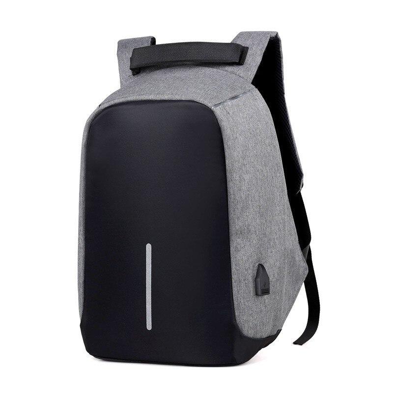 Anti-diebstahl Tasche Männer Laptop Rucksack Reise Rucksack Frauen Große Kapazität Business USB Ladung College Student Schule Schulter Taschen