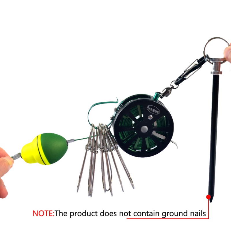 equipamento de pesca stringer pesca flutua carretel
