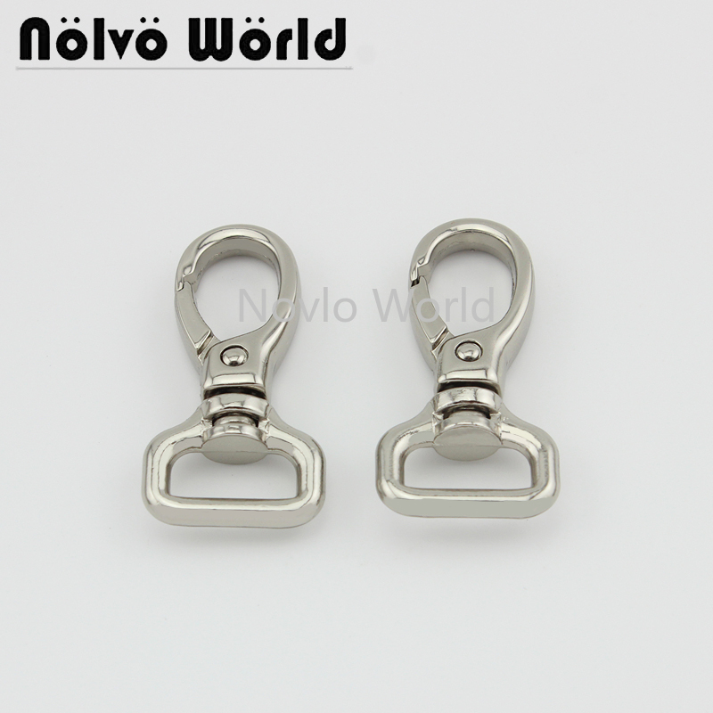 4 Pieces Test, 47*16mm, Small Quantity  Metal Strap Buckle For Bags, Dog Collar Lobster Clasp Swivel Snap Hook Accessories