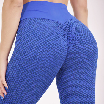 CHRLEISURE Leggings Sport Women Fitness Yoga Pants Women High Waist Elastic Yoga Feminina Sport Tights Energy Seamless 2