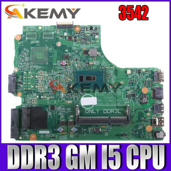 13269-1 For DELL 3542 DELL 3442 motherboard 13269-1 PWB FX3MC I5 A00 REV motherboard CPU GM trabalho 100%
