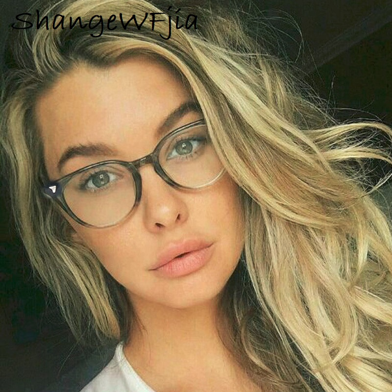 2019 Spectacle Classic Women Round Eyeglasses Frame Brand Designer Fashion Men Nail Decoration Optical Glasses Reading Glasses