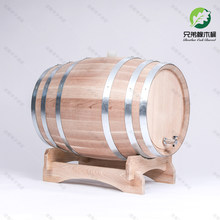 Barril de vinho de madeira rack de vinho decoração toneles vino barriles madera originales barril de carvalho para uísque barril de vinho bg50wb