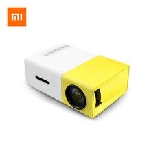 Xiaomi YG300 Mini proyector LED 600 lúmenes de Audio de 3,5mm, 320x240 píxeles YG 300 HDMI Mini proyector USB casa Media Player Box