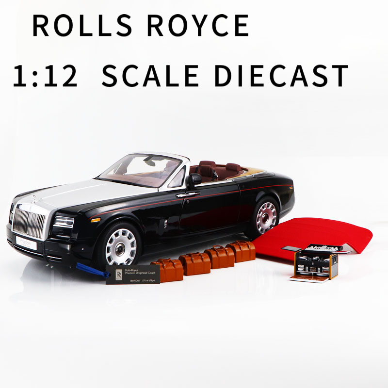 1:12 ROLLS ROYCE PHANTOM DROPHEAD COUPE  RARE COLLECTION