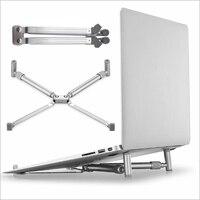 Dobrável ajustável portátil portátil suporte portátil novo portátil suporte portátil notebook suporte de alumínio portátil x-stand para macbook portátil