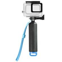 Плавучий Дайвинг стержень для DJI OSMO ACTION GoPro Hero 7 6 5 плавающая палка корпус водонепроницаемый корпус оболочка Спортивная камера аксессуары