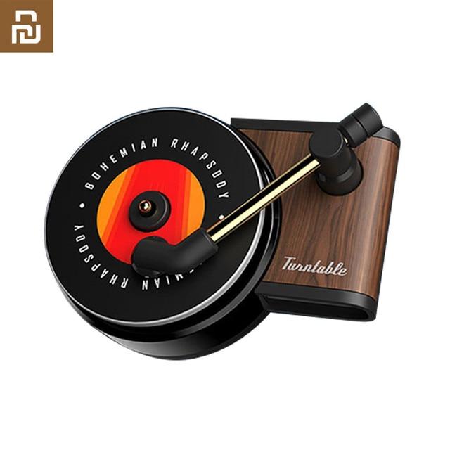 Neue Youpin Sothing TITA Plattenspieler Phonographen Auto Duft Auto Lufterfrischer mit 3 stücke Ersetzen Aromatherapie Tabletten geschenk