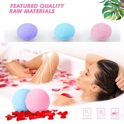 Соль для ванны мяч глубокая морская соль для ванн 1 шт тела розовое эфирное масло для тела отбеливающий избавление от стресса милосердия
