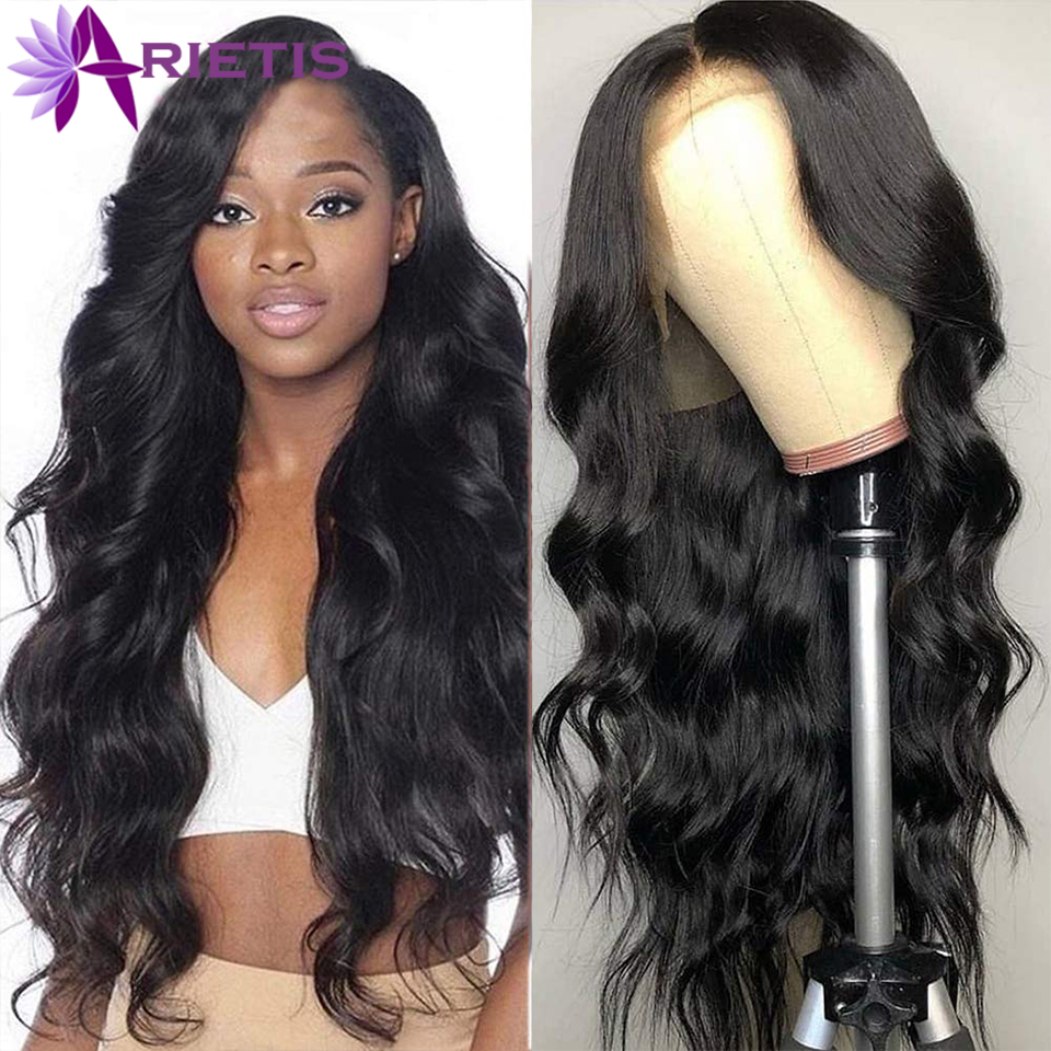 Brazilian 13X4 Body Wave Wig Human Hair Wigs Pre-Plucked With Baby Hair 150% Density Remy Hair Lace Front Human Hair Wig