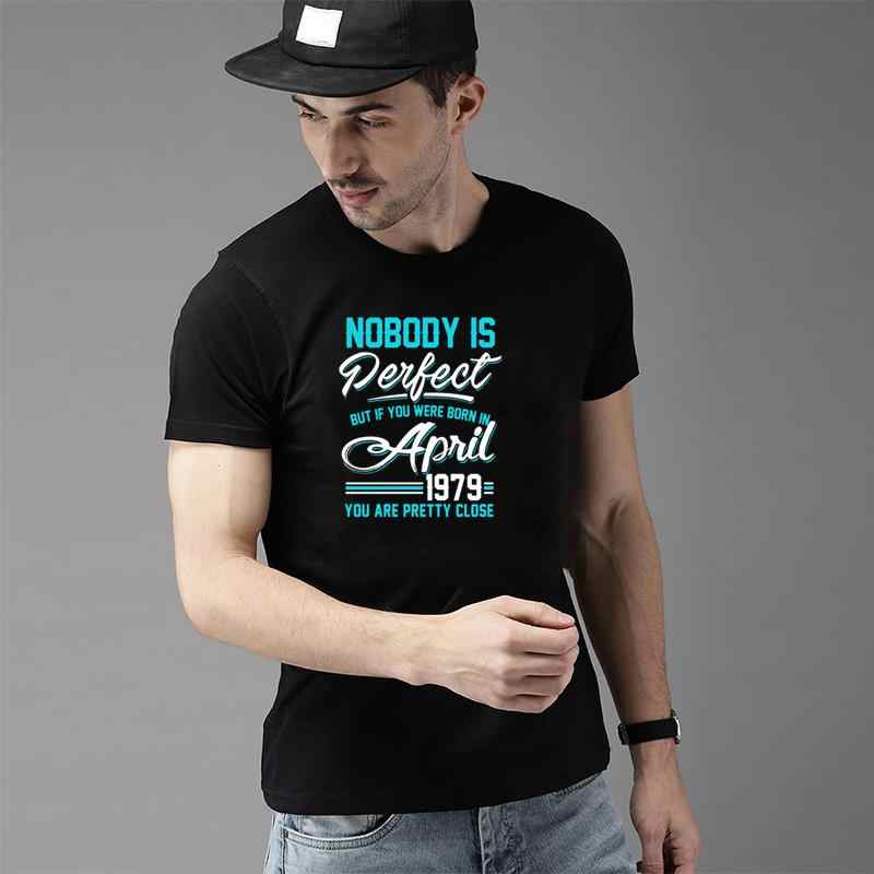¡Novedad de abril de 1979! Camisetas perfectas para hombre, camisetas ajustadas XXXL 4Xl 5XL