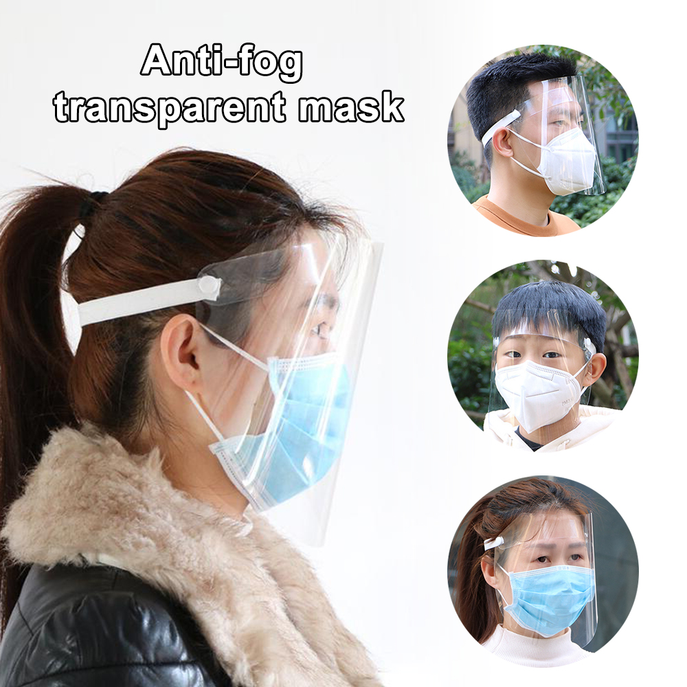 Full Face Covering Dust-proof Safety Shield Tool Mask Clear Glasses Protect