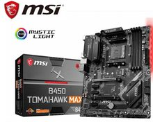 Neue motherboard für MSI b450 tomahawk max amd ryzen 3rd cpu am4 gaming M.2 USB 3,1 4xDDR4 Crossfire ATX b450 marke mainboard(China)
