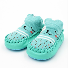New Infant First Walkers Leather Baby Shoes Cotton Newborn Toddler Boy Shoes Soft Sole Autumn Winter Babies Shoes for Baby Girl(China)