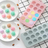 15 holes Silicone Cake Mold Decorating 3D Flower Chocolate Molds DIY Baking Ice Tray Mould fondant molds