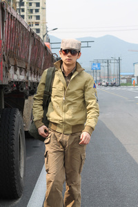 Image 5 - جاكيت جيب M41 بتصميم متماثل من FURY مصنوع من الصوف العتيق طراز WW2 معطف عسكري للرجال لخريف/ربيع الجيش ملابس خارجية من مقاس 36 44 #