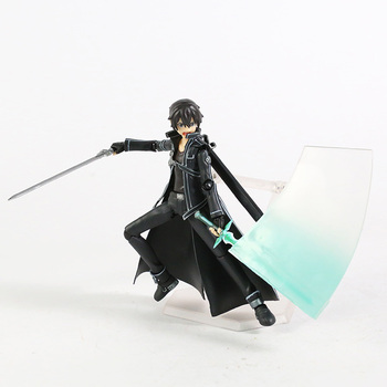 Sword Art Online Kirito Kazuto Figma 174 Asuna Figma 178 PVC Action Figure Collectible Model Toy 2
