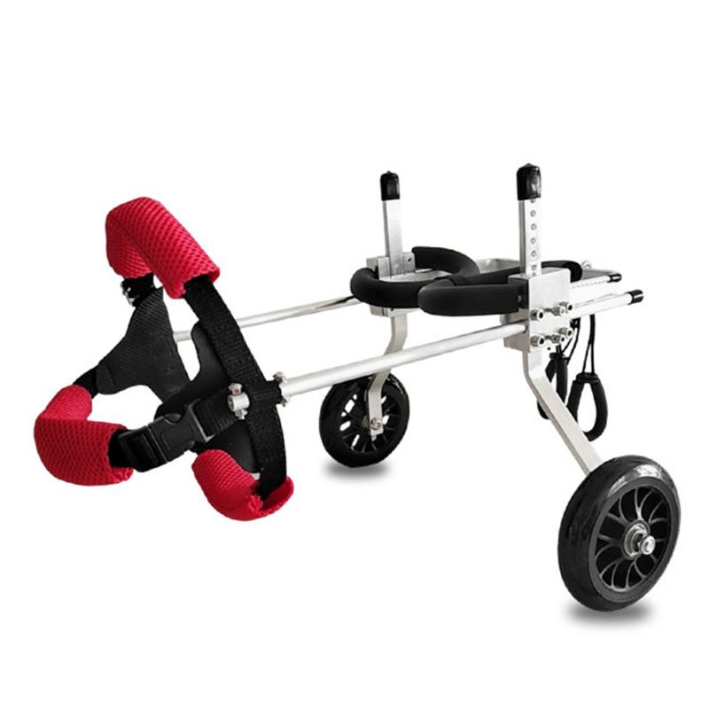 Easy Carry Light Dog Back Legs Wheelchair Aluminum Alloy for Handicapped Hind