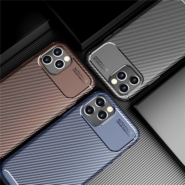 Carbon Fiber Case for iPhone 12/12 Max/12 Pro/12 Pro Max 2