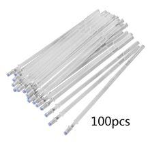 100Pcs High Temperature Disappearing Pen Fabric Markers Pencil Marker Pens Heat Wrap Fade Out DIY Refill цена 2017