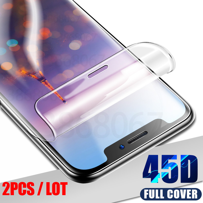 3Pcs 45D Hydrogel Film For Huawei P30 P20 Lite Pro Mate 20 Lite Pro Screen Protector Honor 9 Lite 10 8X Soft Protective Film