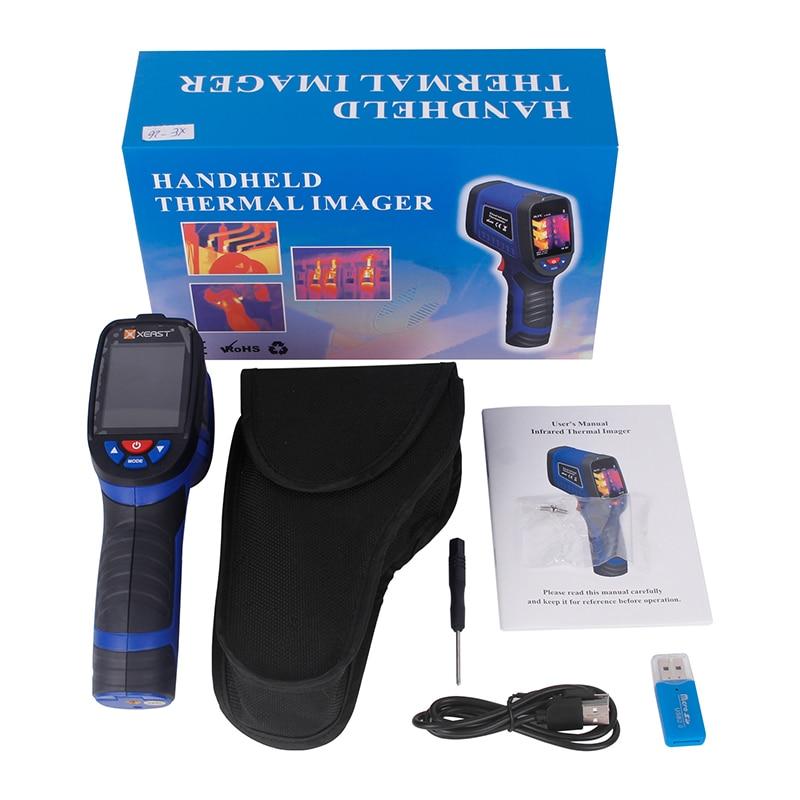 Professional Handheld Digital Thermal Imaging Camera With USB Interface 12