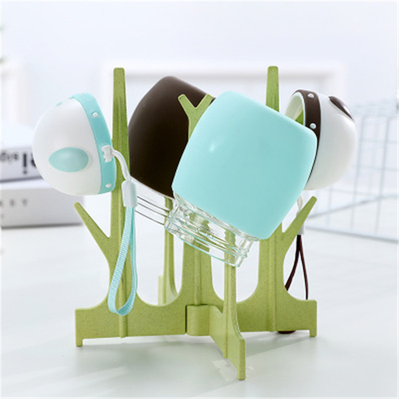 Baby Feeding Bottle Clean Drying Holder Newborn Random Color Multifunction Drain Milk Bottle Nipple Pacifier Storage Drying Rack