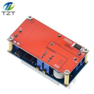 Image 3 - TZT XL4015 5A قابل للتعديل الطاقة CC/CV تنحى تهمة وحدة LED سائق الفولتميتر مقياس التيار الكهربائي ثابت الجهد المستمر