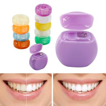 1pc Interdental Brush Teeth Clean Flosser Dental Floss Stick Toothpick Dental 10m Teeth Flosser Tooth Clean Polyester Stick