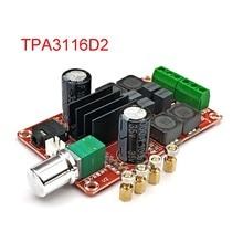 Tpa3116D2 2X50W مكبر كهربائي رقمي مجلس 5 فولت إلى 24 فولت ثنائي القناة ستيريو أمبير