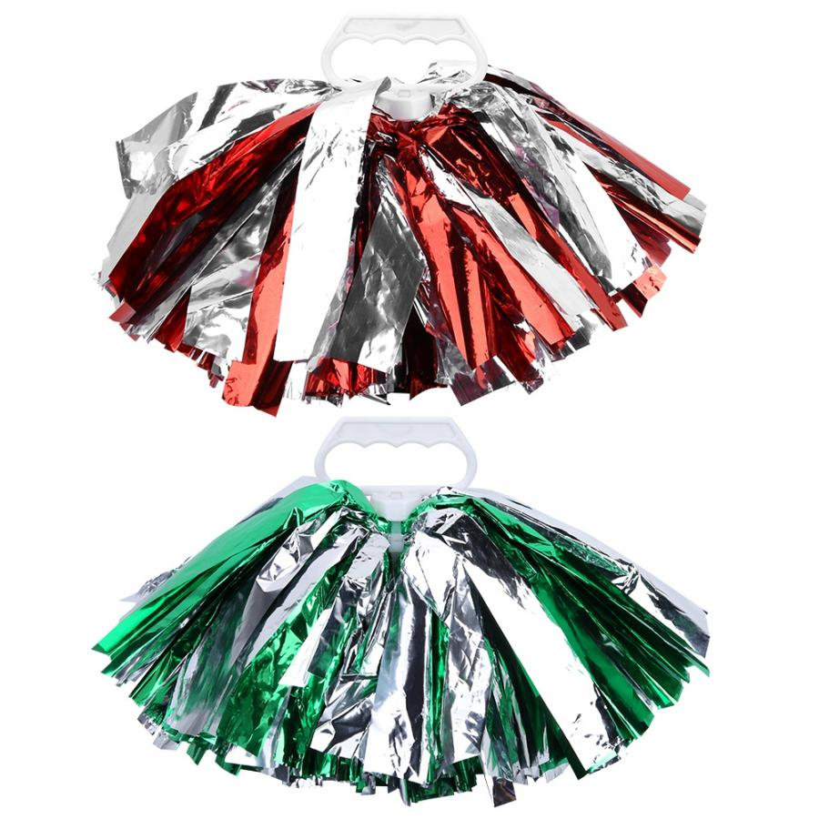 Cheerleadering Pom Poms Pompoms for Dance Party School Sports Competition Props