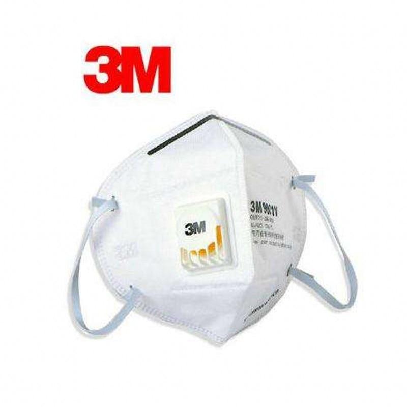 10pcs 3M Mask 9001V Respirator Mask Masque Ffp3 Mask Mascaras Faciais Gripe Mascarilla Ffp2 Mouth Mask Reusable Mondmasker