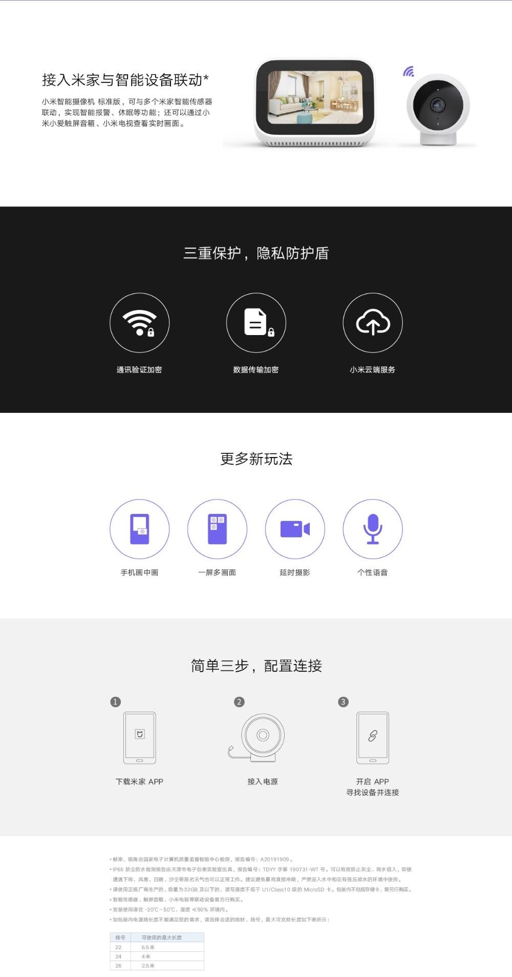 Newest Xiaomi Mijia Smart Camera  (12)